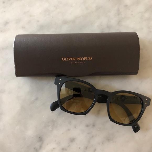 Oliver Peoples Byredo Black Sunglasses